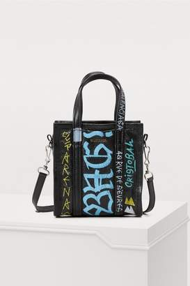 Balenciaga XXS Graffiti Bazar tote bag