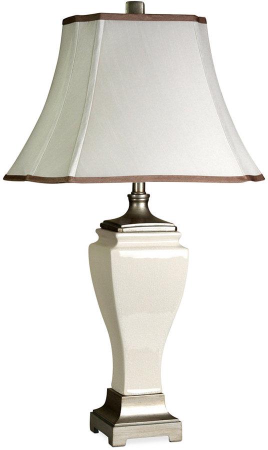 Stylecraft Crackled Ceramic Table Lamp