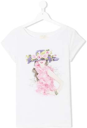 MonnaLisa Chic graphic print T-shirt