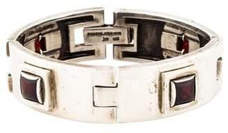 Kieselstein-Cord Garnet Link Bracelet