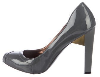 Stella McCartney Vegan Patent Leather Pumps