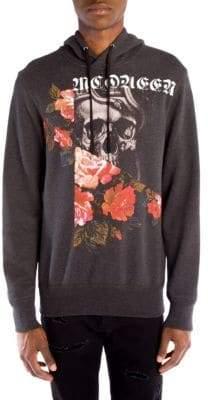 Alexander McQueen Skull& Roses Hoodie