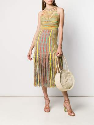 M Missoni knitted midi dress