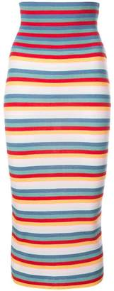 Tome striped knit dress
