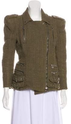 Balmain Long Sleeve Zip-Up Jacket
