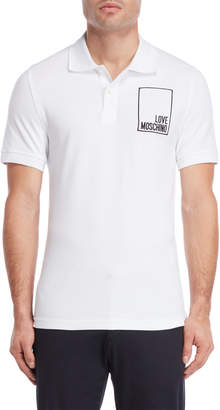 Love Moschino Box Logo Polo