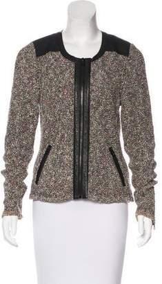 Rag & Bone Lory Leather-Accented Jacket