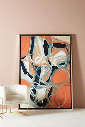Anthropologie Intersecting Thoughts Wall Art
