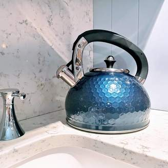 Distinctly Living Hex Kettle Blue, White Or Grey