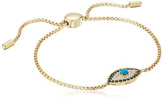 18k Yellow Gold Plated Sterling Silver Turquoise