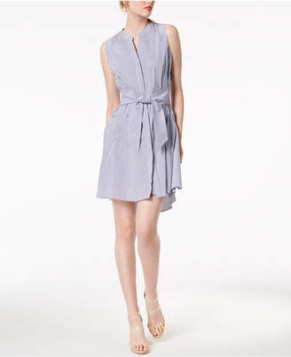 Bar III Sleeveless Tie-Waist Dress, Created for Macy's