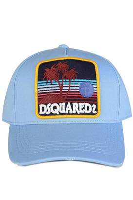 DSQUARED2 DsquaredLogoPatchBaseballCap