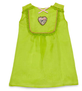 Baby organza dress with heart $480 thestylecure.com