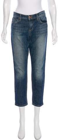 Joe's Mid-Rise Straight-Leg Jeans