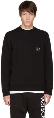Neil Barrett Black Barbell Sweatshirt