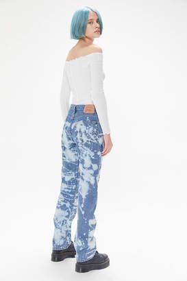 Urban Renewal Vintage Levis Bleach Splatter Jean