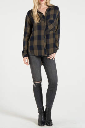 Bella Dahl Buffalo Check Shirt