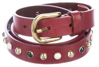 Isabel Marant Leather Embellished Belt