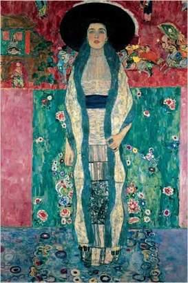 Gustav Eurographics Portrait of Adele Bloch-Bauer II, 1912 Art Print Poster by Klimt