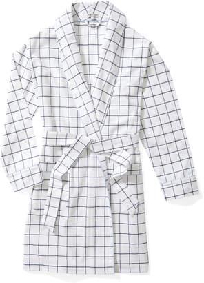 Serena & Lily Harbor Flannel Robe
