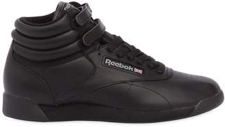 Reebok Classics Freestyle Leather High Top Sneakers