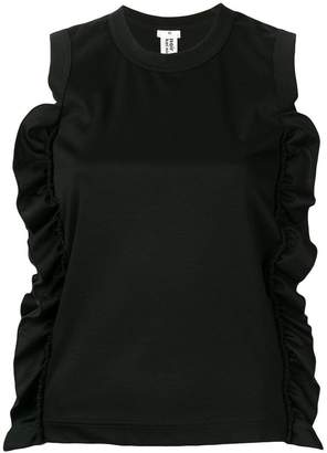 Comme des Garcons ruffled top