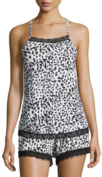 CosabellaCosabella Majestic Print Lounge Camisole, Leopard
