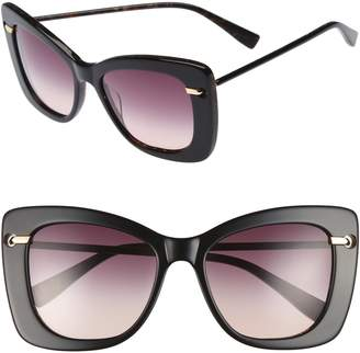 Derek Lam Clara 55mm Gradient Sunglasses