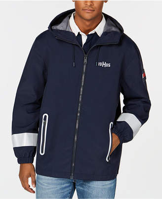 Tommy Hilfiger Men's Lunar Hooded Windbreaker