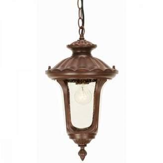 Rusty Haysoms Bronze Patina Chain Lantern Small - 1 X 100W E27