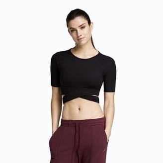 Danskin x Jenna Dewan Cross Front T-Shirt - Women's