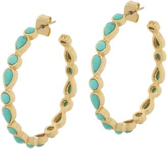 Melinda Maria Hoop Earrings - Eva