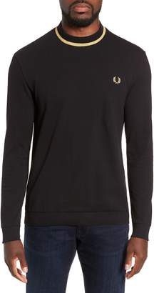 Fred Perry Long Sleeve Pique T-Shirt