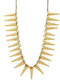 TOHUM DESIGN Women's Cone Shell Necklace-Gold