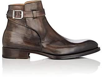 Harris Men's Burnished Leather Jodhpur Boots