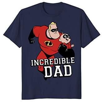Disney Pixar Incredibles 2 Dad and Jack Jack Graphic T-Shirt