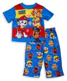 AME Sleepwear Baby Boy's Two-Piece Top and Pants Pajama Set