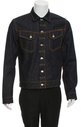 Nudie Jeans Dark Wash Denim Jacket