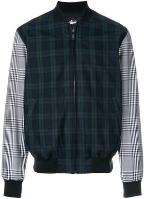 Stussy zipped bomber jacket
