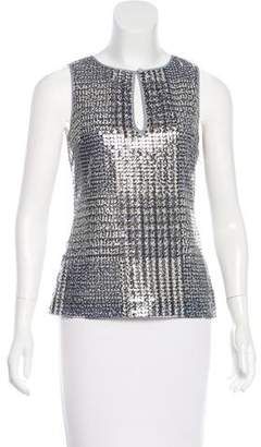 Tory Burch Sequined Sleeveless Top