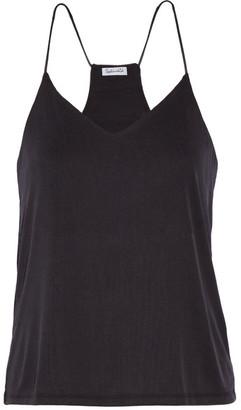Splendid - Ribbed Stretch Modal-blend Camisole - Black $105 thestylecure.com