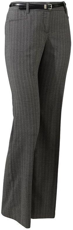 Apt. 9 modern fit pin-striped pants