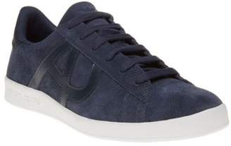 Armani Jeans New Mens Blue Cup Sole II Suede Trainers Retro Lace Up