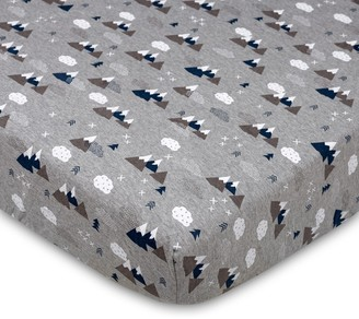Lolli Living Peaks Fitted Crib Sheet