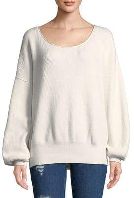 Free People Moss Shadow Oversized Pullover