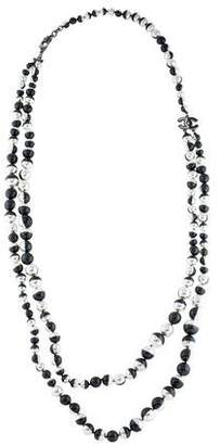 Chanel Faux Pearl & Resin Eclipse Multistrand Necklace