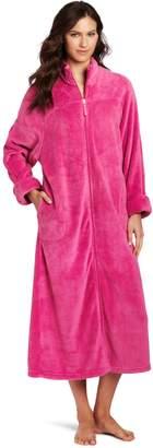 Casual Moments Women's 52 Inch Breakaway Zip Robe