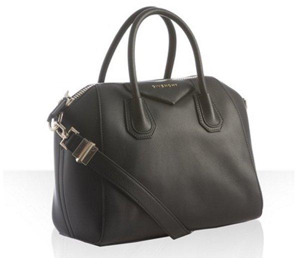 Givenchy black leather 'Antigona' satchel