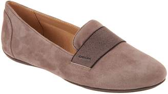 Geox Suede Slip-On Shoes - Charlene