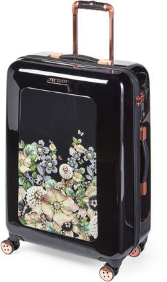"Ted Baker 27"" Black Gem Gardens Upright Spinner"